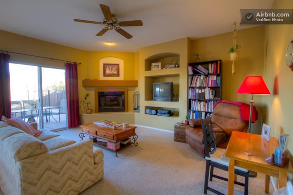 Arizona Sanctuary - Private Room 2 - 투손의 주택에서 살아보기, 애리조나, 미국