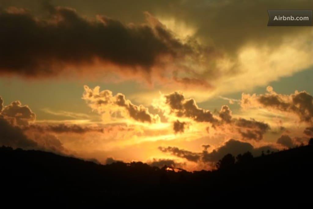 Um Pôr do Sol Espetacular