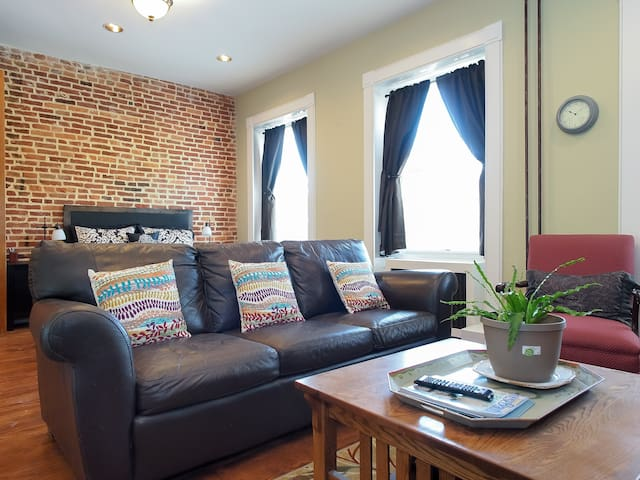 Upper Fells Point Studio with parking - Baltimore - Lejlighed