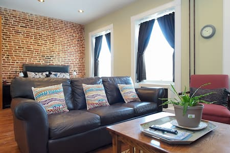Upper Fells Point Studio with parking - Baltimore - Íbúð