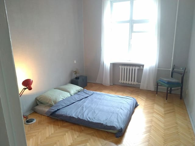 Room in a beautiful apartment in Podil !
