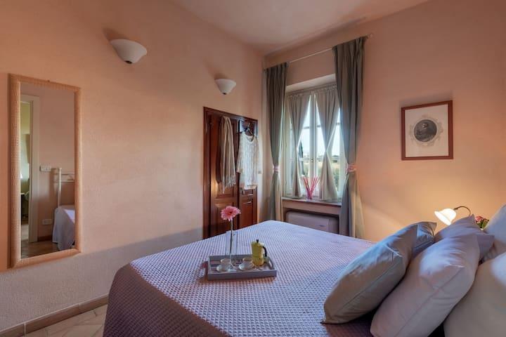 a romantic bedroom