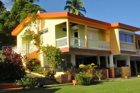 Martinique Nord calme Villaovert