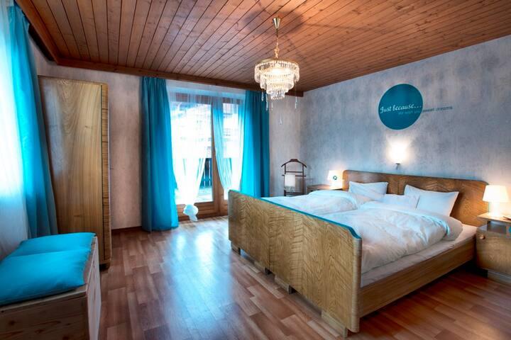 """Haus Sonneneck, Dbl room """"Kristall"""" - Fügen - House"""