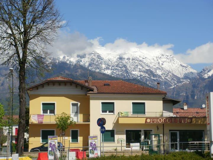 appartamento vacanze VILLA NORMA a Feltre-Dolomiti