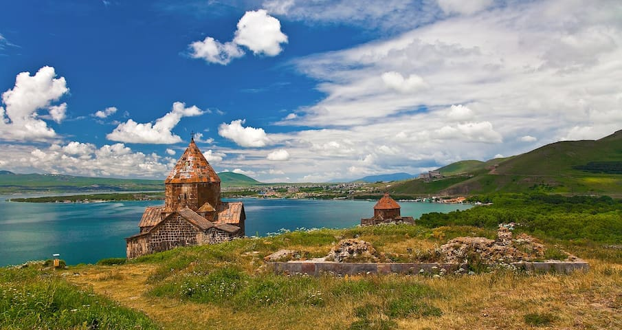Guest House + Transfer to Sevan lake