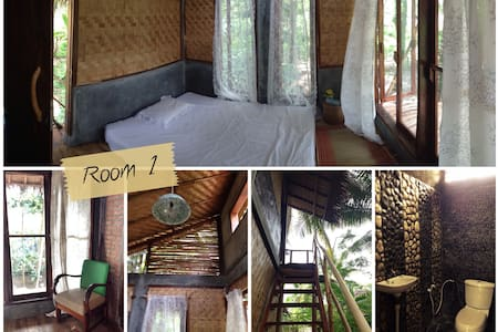 Nature Room Batukaras Surf Beach 1 - Cijulang - Casa