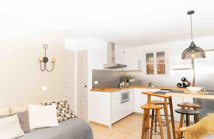 appartement , 2 chambres ,vue mer