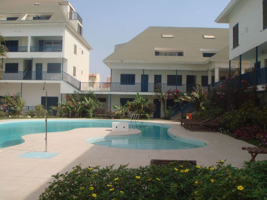 Guests have access to the swimming pool