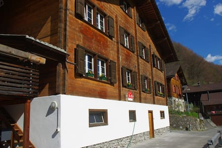 Guest rooms in a big wooden house - Chalet