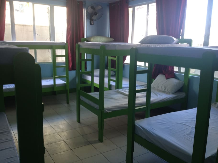 Fan Dormitory for 12 Pax