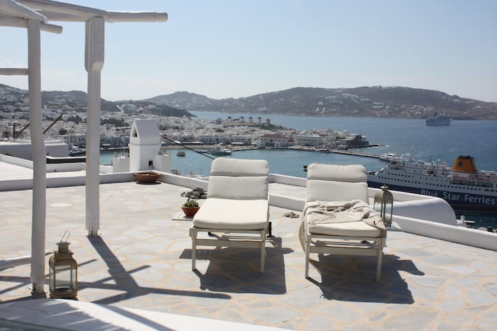 Deluxe Studio Mykonos best View 1.