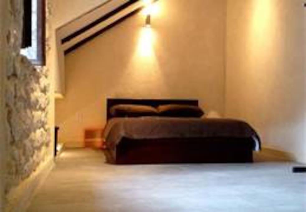 Top Floor Bedroom- first view