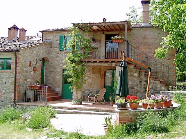Agriturismo bio Antico Silbule 1 - Bibbiano-Capolona - Casa