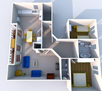 Großzügige 3-Zimmer-Wohnung - Rheinhausen