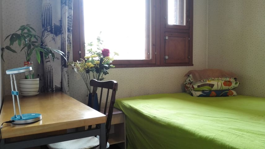 a guest room in a four room house - Oulu - Casa