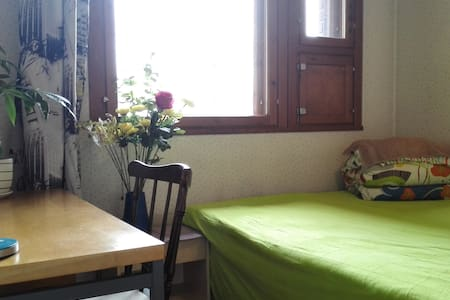 a guest room in a four room house - Oulu
