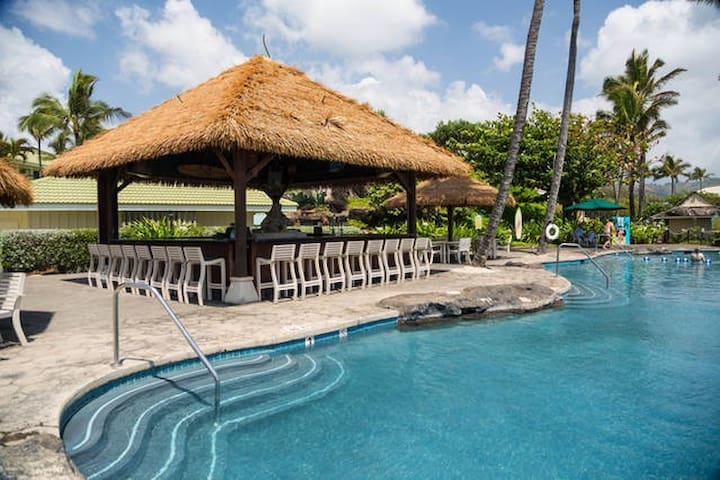 Reduced! Special deal $119 free wifi & resort fee - Lihue - Lejlighed