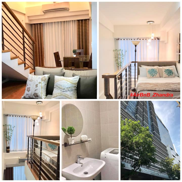 Greenbelt Makati Loft: WiFi+ Cable TV+ Location+++