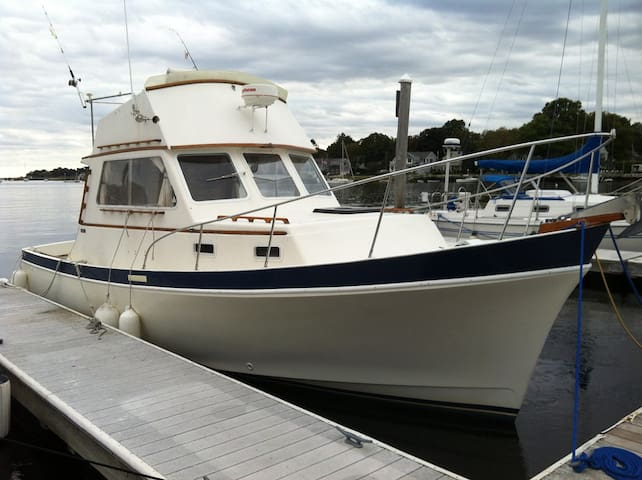 """Vytis"" Downeast Yacht 30 ft - Warren - Bateau"