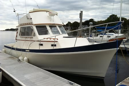 """Vytis"" Downeast Yacht 30 ft - Warren - Boot"