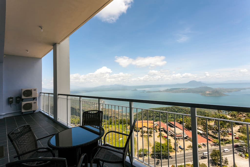 If the view doesn't impress, we will refund your money. Just kidding, but really the view is spectacular. Balcony is big at 20+ sqm.