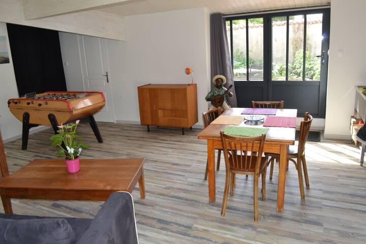 Ch d'hôte terrasse privée sans vis à vis (2+1 enf)