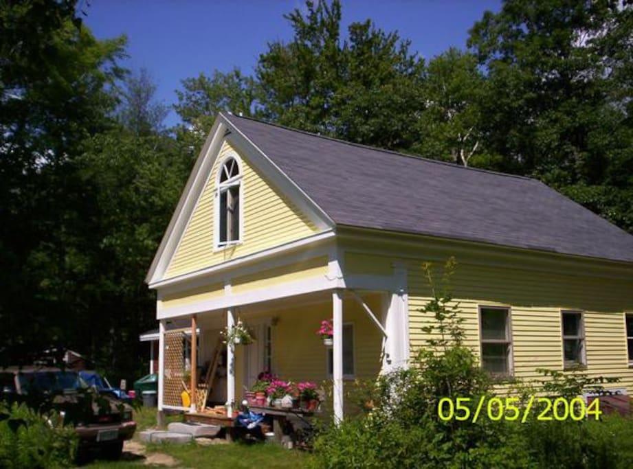 Schoolhouse, circa 1854