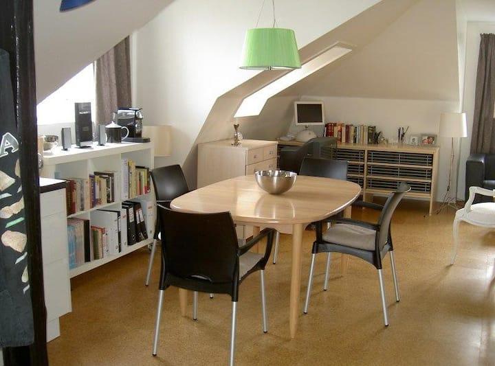 Cozy Studio Apartment i Hellerup