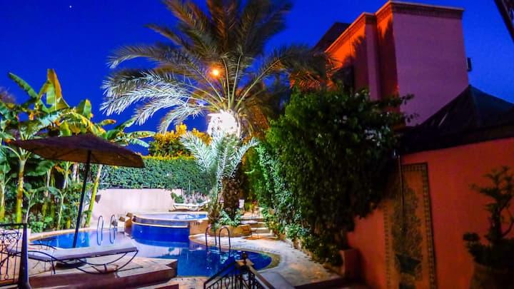 maison d'hôtes  ( Riad à guéliz )