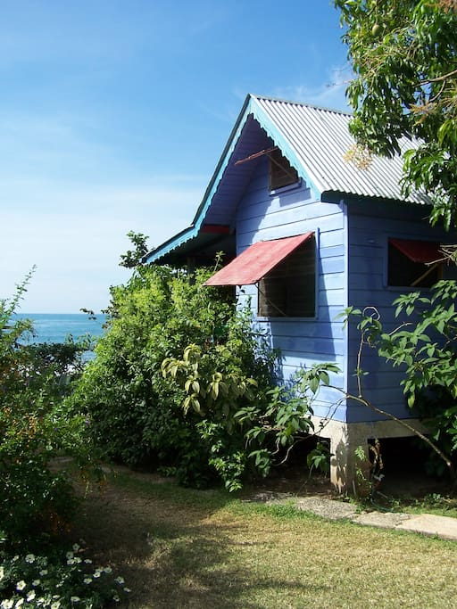 Adorable beachfront cottage at the calabash house for Calabash cottage