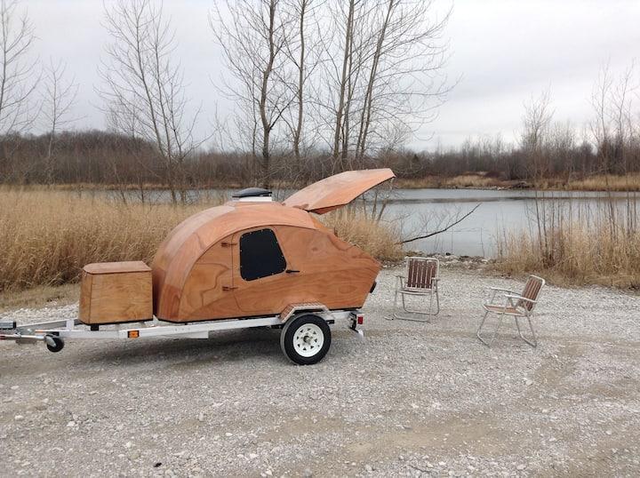Teardrop Camper Getaway