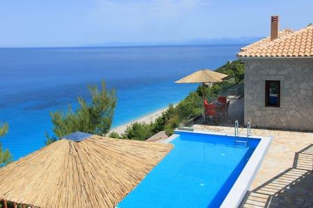 Milos Paradise Private Luxury Villa Iris - Agios Nikitas - Villa