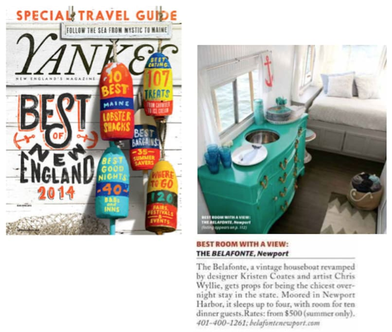Voted Best Room With A View By Yankee Magazine!