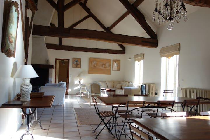 Le Limodin Manor House  - La Houssaye-en-Brie - Rumah