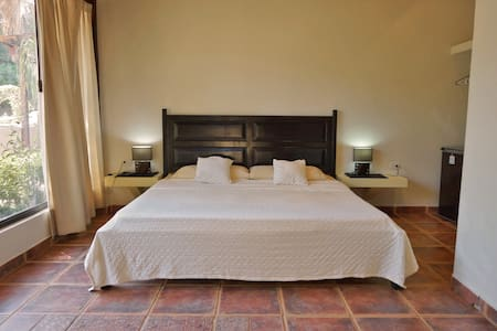 Cabinas La Buena Vida *5 (Ground Floor King Room) - Playa Grande