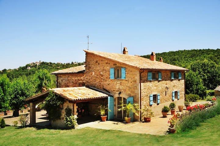 Maison de charme Le Murelle Umbria - Baschi - Vila