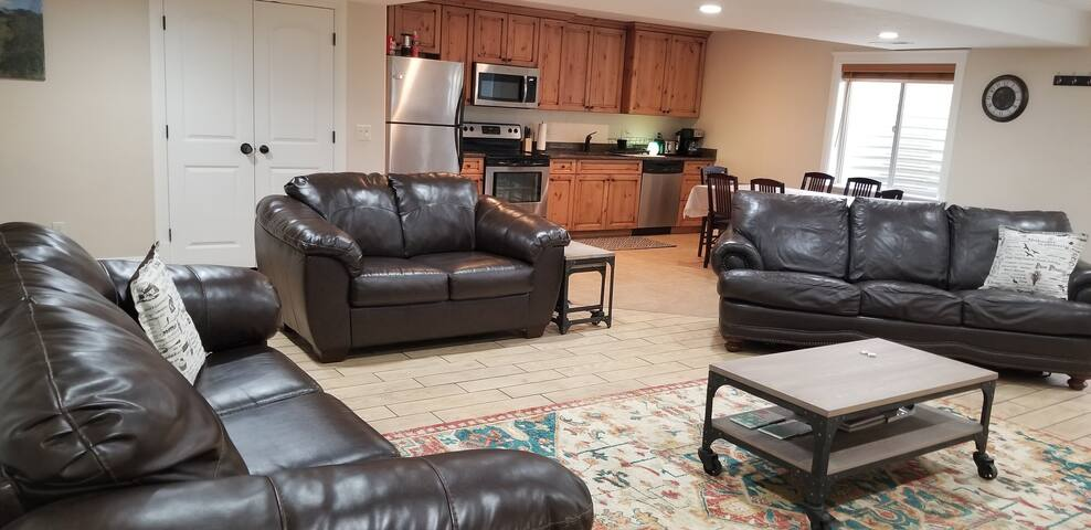 Spacious~Private-2 Bedroom Basement Apartment.
