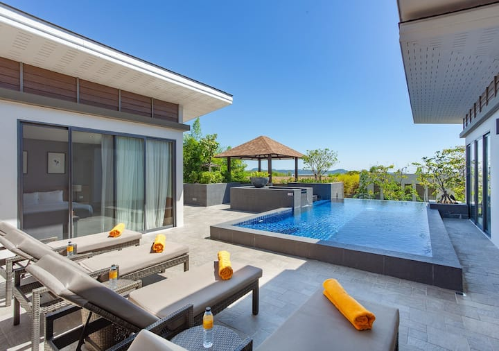 Privacy 4 Bedrooms Pool Villa Monthly Rental