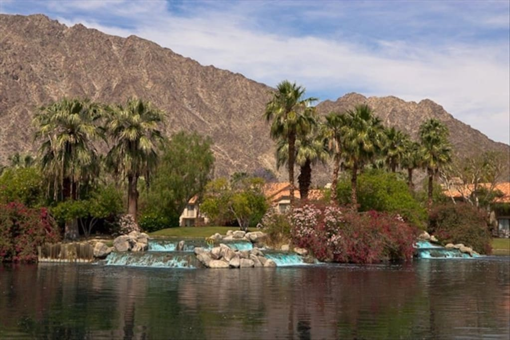 Find peace at our garden retreat in the desert.