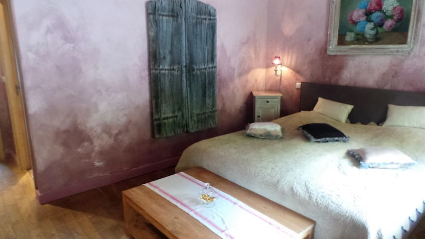 Chambre rose - Durbuy - Hus