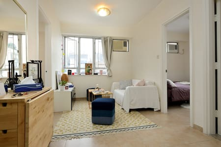 2 bedrooms flat cosy and bright