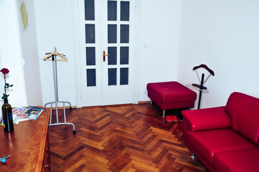 Welcome to Prague! Welcome to our lovely room with beautiful view on all city, 10-15 minutes by walk to the Old Town and city center. It's perfect for a couple or one person.