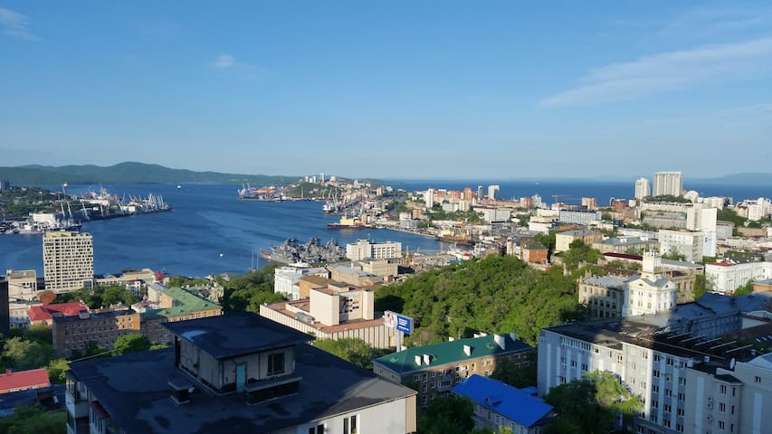 HOUSE WITH LOVELY VIEW IN VLADIVOSTOK !