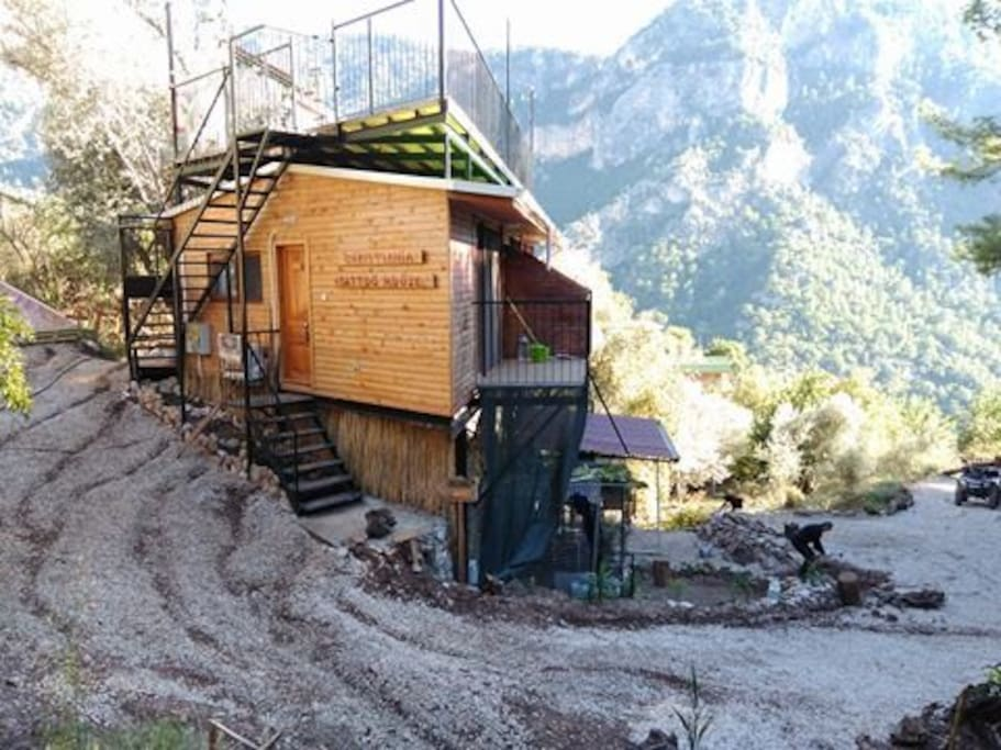 We are renting an Apartment in side the Facility. We are on the Lycian Way.