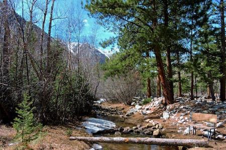 Canyon Cabin - Relaxation in the Rockies - Nathrop - Cottage