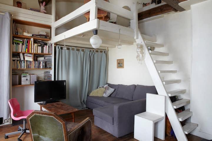 Confortable studio au coeur de Montmartre