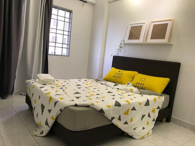 Cozy room steps away from IKEA PJ - Petaling Jaya - Apartment