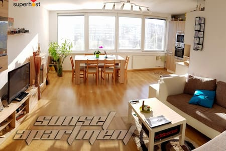 Sunset Apartment by the city center