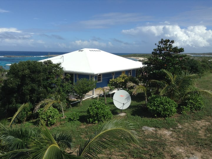 House of Blues, Turtle Cove, Long Island, Bahamas.